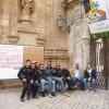 Modica, Netturbini licenziati protestano davanti al Comune