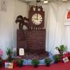 Rovinata la scultura di cioccolato raffiguante il Castello dei Conti